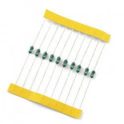 Inductor axial 10uH EMI/160 mA - 10pcs.