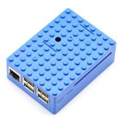 Pi-Blox case for Raspberry - blue