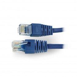 LAN Patch Cord - 0,25m - blue