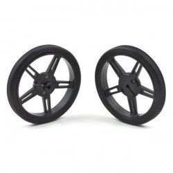 Pololu wheel 60x8mm black - pair