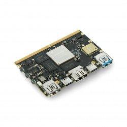 Khadas Edge Max - Rockchip RK3399 WiFi, Bluetooth Cortex A72/A53 + 4GB RAM/128GB eMMC