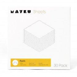 Mayku Form Sheets - white 0.5mm sheet for Formbox - 30pcs.