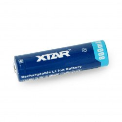 Li-Ion Xtar 800mAh cell 14500 with safety features