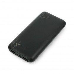 Mobile battery Powerbank Extreme Style Ampere AEPB10-C2U 10000mAh - black