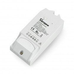 Sonoff Dual R2 - 2x relay 230V - WiFi switch Android / iOS