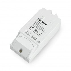 Sonoff TH10 - 230V relay with temperature and humidity measurement - WiFi switch Android / iOS
