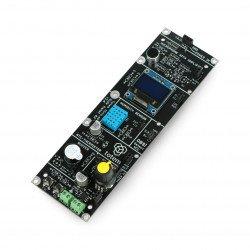 Side panel with Totem Mini Lab lien sensors