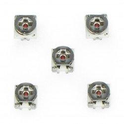 Potencjometr leżący 3x3mm - 10k Ohm