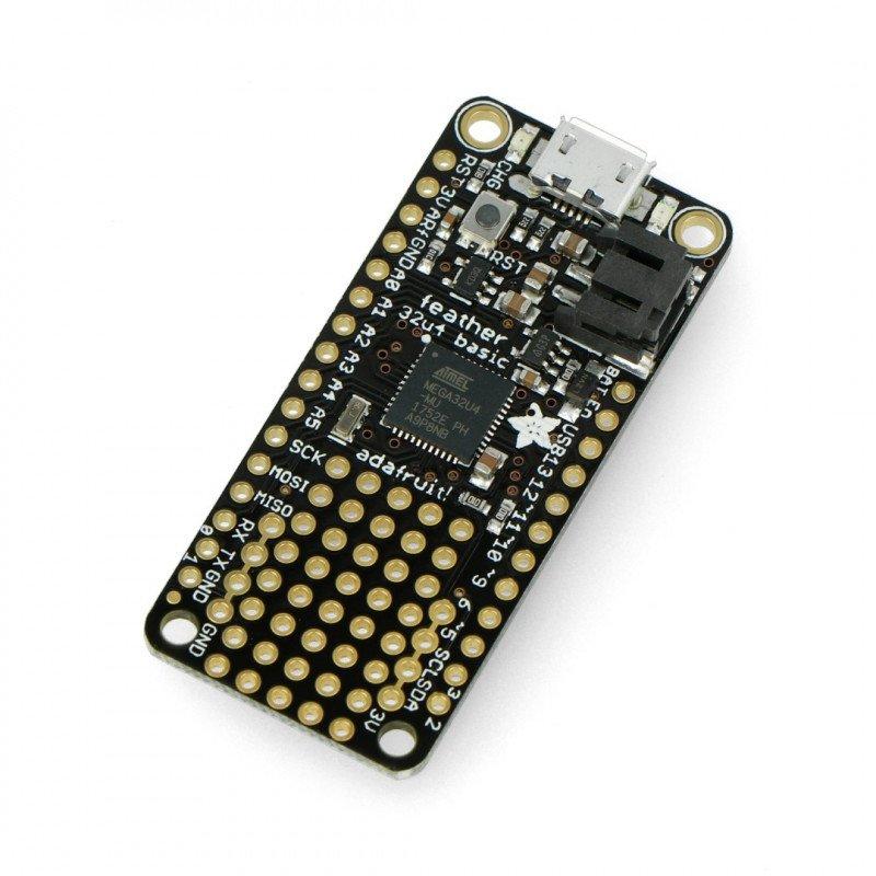 Feather Adafruit 32u4 Basic Proto - module prototype