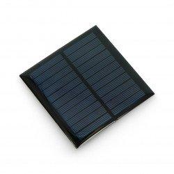 Solar cell 1W / 5.5V 95x95x3mm