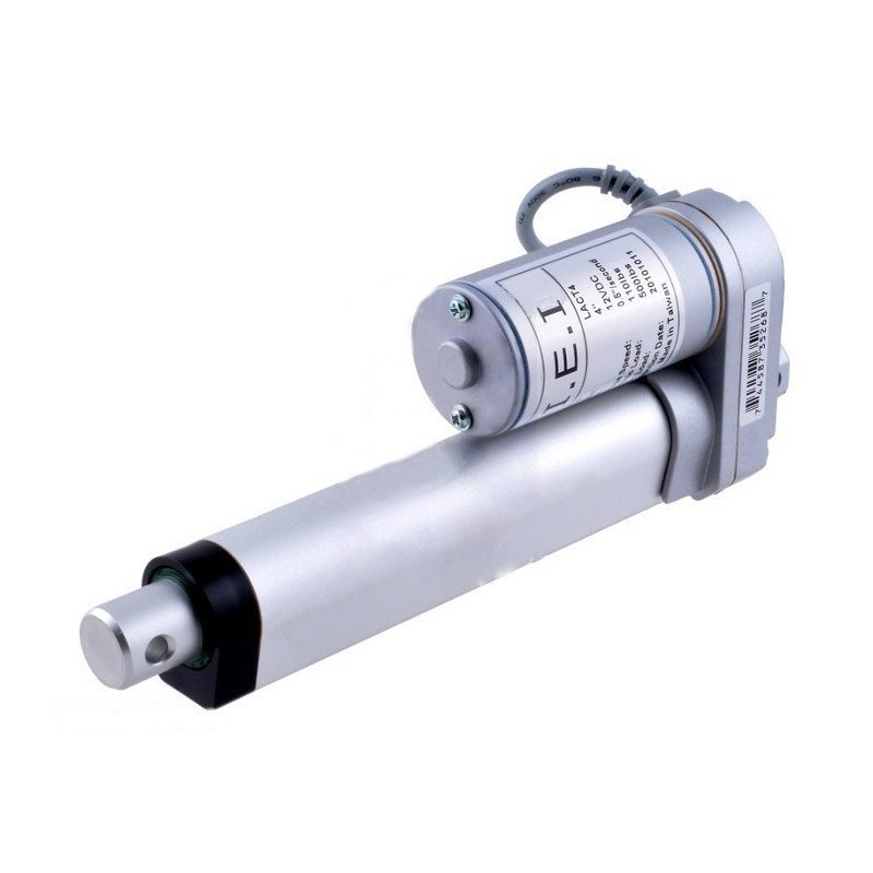 Linear actuator LACT4P-12V-5 150N 43mm/s 12V - extension 10cm