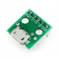 MicroUSB socket module