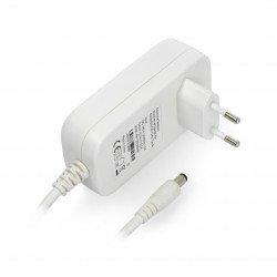 Power supply module 12V 2.5A white plug 2.1mm