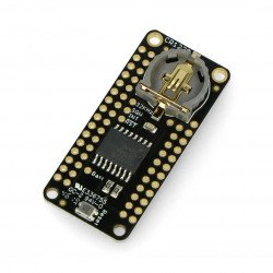DS3231 Precision RTC FeatherWing - pad clock RTC for Feather