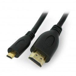 Lanberg microHDMI cable - HDMI - 1.8m
