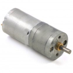 25Dx48L motor with 4:4:1 12V 1700RPM gearbox - Polol 3225