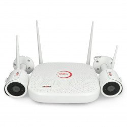 Wireless WiFi monitoring set - DVR + 2x camera - Zamel ZMB-01