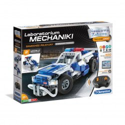 Construction kit - Remote controlled police car - Clementoni 50124