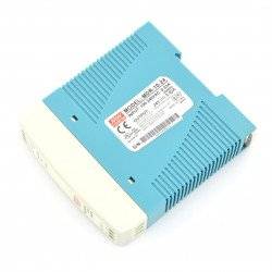 Mean Well MDR-10-24 DC power supply for DIN rail - 24V/0,42A