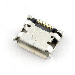 MicroUSB type B socket -...