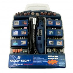 Falon Tech MG02A mini-drilling machine with accessories - LED - 320 elements