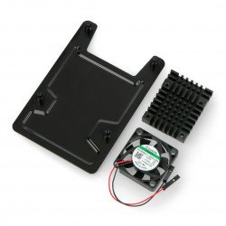 Housing for Asus Tinker Board - open with fan