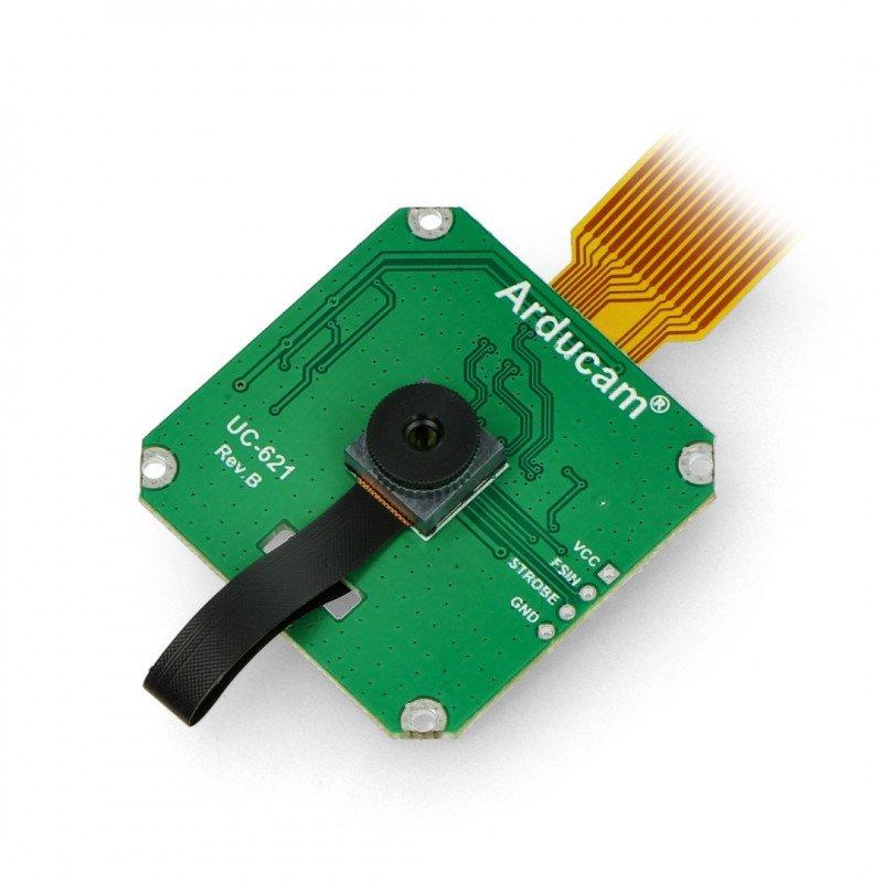 Arducam 2MP OV2311 with monochrome lens for Raspberry Pi