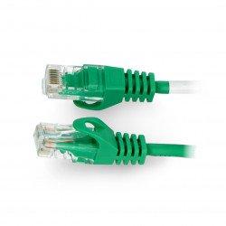 Lanberg Ethernet Patchcord UTP 5e 50m - green
