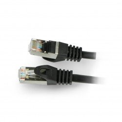 Lanberg Ethernet Patchcord FTP 5e 50m - black