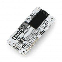 Enviro pHAT - sensor for temperature, pressure, light intensity and close-up - cap for Raspberry Pi