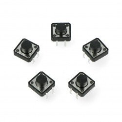 Tact Switch 12x12mm h-7mm