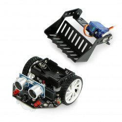 micro:Maqueen with mechanical charger - robot platform for micro:bit - DFRobot ROB0156-L-1