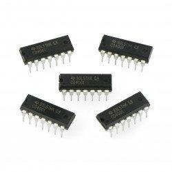 Logic CD4001BP 4xNOR - 5pcs.