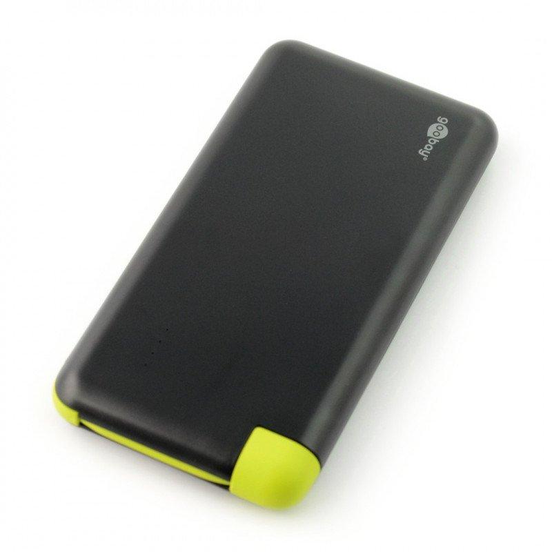 Mobile PowerBank Goobay 8.0 Slim 4000mAh battery