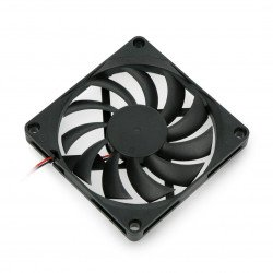 5V 80x80x10.8mm fan 2 wires