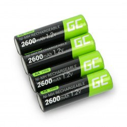 Green Cell 4x AA battery HR6 2600mAh