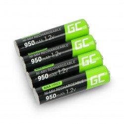 Green Cell battery HR03 AAA Ni-MH 950mAh - 4pcs.