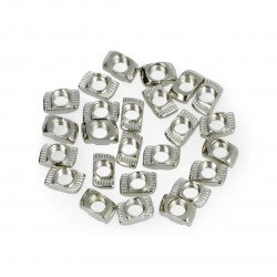 Nuts T-NUT M5 25 pieces