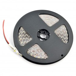 Strip LED SMD3528 IP44 9,6W, 120 diod/m, 8mm, natural white - 5m
