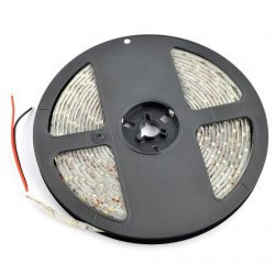 Strip LED SMD3528 IP65 4,8W, 60 diod/m, 8mm, natural white - 5m