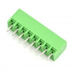 Assembly bar male 8-pin, raster 3,5mm, vertical