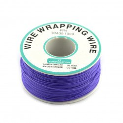 Insulated PVC Coated 30AWG Wire Wrapping Wires Reel 820Ft