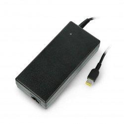 Green Cell power supply for Lenovo laptops 20V 6.75A slim tip (USB) connector