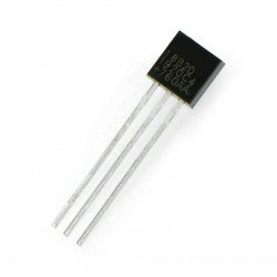 Temperature sensor DS18B20 - digital 1-wire THT