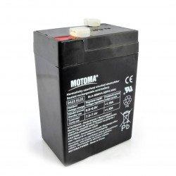 Gel battery 6V 4,5 Ah Motoma