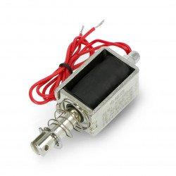 Pulling electromagnet 12V 8,4W 3,5kg