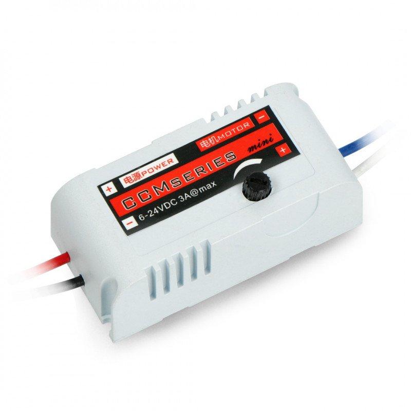 PWM controller for DC 6-24V motor