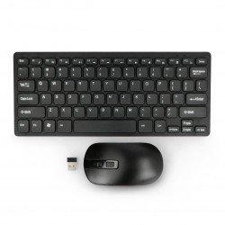 Wireless keyboard + mouse...