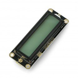 DFRobot Gravity - 2x16 I2C LCD display - gray