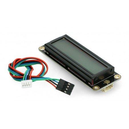 DFRobot Gravity - 2x16 I2C LCD display - gray